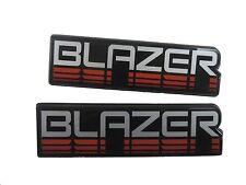GM Emblem Blazer 1983-1990 set of 2 15592824