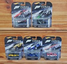 Hot Wheels 2017 Retro Entertainment Forza Motorsport Complete Set of 5 (a /a)