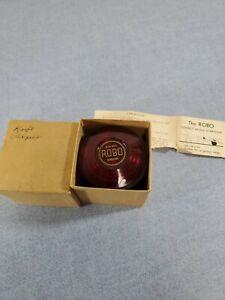 Robo Red Rolling Knife Sharpener W/ Original Box
