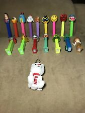 Pez Dispenser Lot - 17