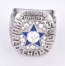 Dallas Cowboys World Champion RIng, Silvertone, Size 12