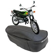 SUZUKI T125 T 125 STINGER  WOLF -MOTORCYCLE SEAT COVER with WHITE LOGO TO REAR