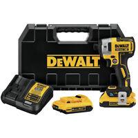 DEWALT 20V MAX XR 2.0 Ah BL Tool Connect 1/4 in. Impact Driver DCF888D2 New