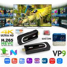 H96 PRO H3 Android 7.1 2GB 16GB S905X 4K TV Dongle WIFI Mini PC Stick HDR VP9 BT