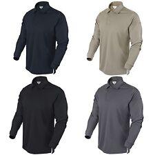 Condor 101120 Tactical Long Sleeve LS Athletic Performance Polo Shirt S-XXXL