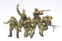35311, 1:35 Tamiya Fig.-Set Rus. Sturmtruppen WWII, GMK World War II, Plastikmod