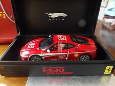 Due HotWheels SUPER ELITE 1/18 SCALA FERRARI F 430 CHALLENGE e 458 SPIDER NUOVO.