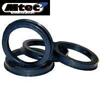 Spigot Rings Set Of 4! 67.1 - 56.6 To Suit  Vauxhall 4 stud cars and vans