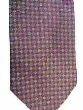 "Hart Shaffner Marx Men' Silk Tie 59"" X 4"" Iridescent from Purples to Greens"