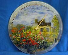 Goebel Orologio da parete in vetro-CLAUDE MONET L'ARTISTA'S HOUSE LA MAISON DE l'artiste