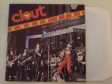 "CLOUT - Under Fire - 2 Track 12"" Maxi Carrere 1979"