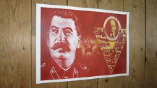 Joseph Stalin and Vladimir Lenin Repro Politicial POSTER