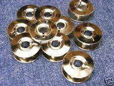 10 Unterfaden-Spulen geeignet für Pfaff aus Metall