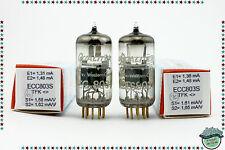 ECC803S / ECC83 Telefunken <> matched pair Tube, Valve, Röhren, same code 1963