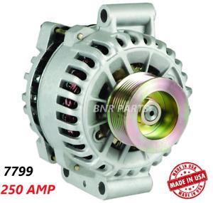 250 AMP 7799 Alternator Ford F Series 99-01 7.3L Aux Unit NEW High Output HD USA