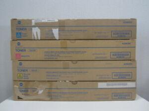 Original Konica Minolta Toner Set TN512 KCMY bizhub C454 NEU & OVP