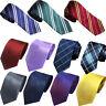 Men's Classic Jacquard Woven Striped Necktie Necktie Business Party Wedding Tie