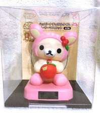 Deer Apple Rilakkuma Korilakkuma Solar Power Figure Toy Japan