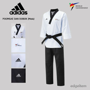 Adidas Poomsae WT Dan Uniform (Male) Taekwondo Dobok TKD Male Tae Kwon Do