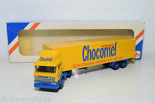 LION CAR DAF 1900 CHOCOMEL NUTRICIA TRUCK WITH TRAILER MINT BOXED