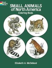 Small Animals of North America Coloring Book