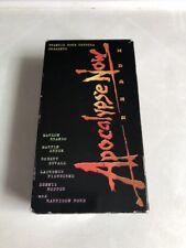 Apocalypse Now Redux (Vhs, 2001, 2-Tape Set) Marlon Brando Coppola