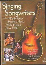 Singing Songwriters DVD Emmylou Harris STEVE EARLE Julie Buddy Miller GUY CLARK