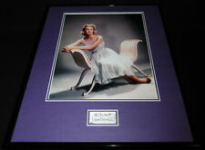 Dina Merrill Signed Framed 16x20 Poster Photo Display C