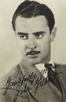 Silent Film Hollywood Movie Star Actor John Gilbert The Great Lover Photo 1930s