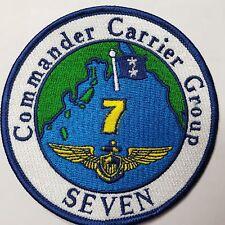 U.S. Navy commander Carrier Group seven Patch Patch
