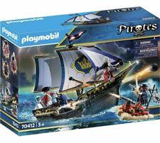 Jeu Playmobil - 70412 - Chaloupe des soldats - 87 pièces - Jeu Neuf