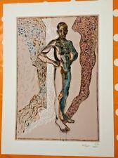 Billy Childish - Nude - Signed Ltd Print - RARE