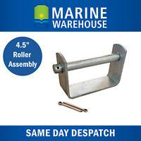 """Boat Trailer Roller Flat Bracket 4.5"""" Assembly W/ Spindle & Split Pins 43208"""