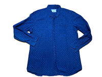 Gazman Australian Mens Big And Tall Button Up Shirt Size 2XL Long Sleeves