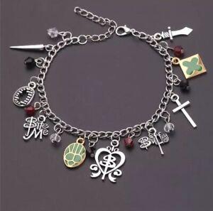 Buffy The vampire slayer Charm Bracelet Gift Christmas tv Show Uk