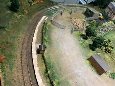 More details for 00 gauge model railway layout almost circular highland theme
