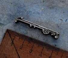 Linie Zierornament Messing Buchbinden Blindprägen Ornament Zierlinie Umrandung