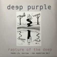 DEEP PURPLE : RAPTURE OF THE DEEP - [ CD ALBUM PROMO ]