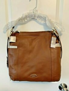 Coach Chicago Gallery Hobo 33436 Brown Leather Shoulder Crossbody-NWT