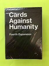 NEW Cards Against Humanity: Fourth Expansion (4th) Party Game Fast Free Shipping