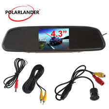 "4.3""TFT LCD Screen Car Reverse Monitor Night Vision 170 Anti-Fog Rearview Camera"