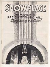 "Radio City Music Hall  1940  Program  ""Showplace""   ""Rebecca""  Laurence Olivier"