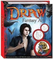 Draw Fantasy Art by Hinkler Books (Hardback, 2010) 6 Books In 1.