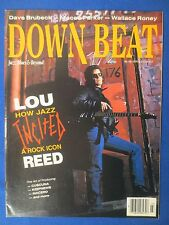 DOWN BEAT MAGAZINE MARCH 1991 LOU REED DAVE BRUBECK WALLACE RONEY FRITZ HAUSER