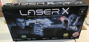 Laser X Two Players Laser Gaming Set (88016) Tested And Is Fully Operational.