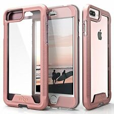 iPhone 7 Plus Case Ultra Thin Anti-Shock Protective Cover Screen Protector Rose
