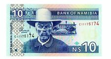 Namibia … P-4a … 10 Dollars … Nd(2001) … Ch*Unc*.