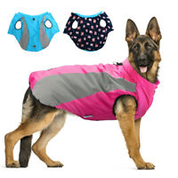 Dog Coats for Large Dogs Winter Waterproof Jacket Warm Padded Clothes Reflective