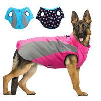 Winter Hundemantel Wasserdicht Hundejacke Warm Gepolstert Kleidung Regenschutz