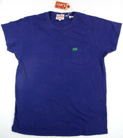 Levi's LVC Levis Vintage Clothing T Shirt 1950´s  Purple Levis 100% Cotton Levi
